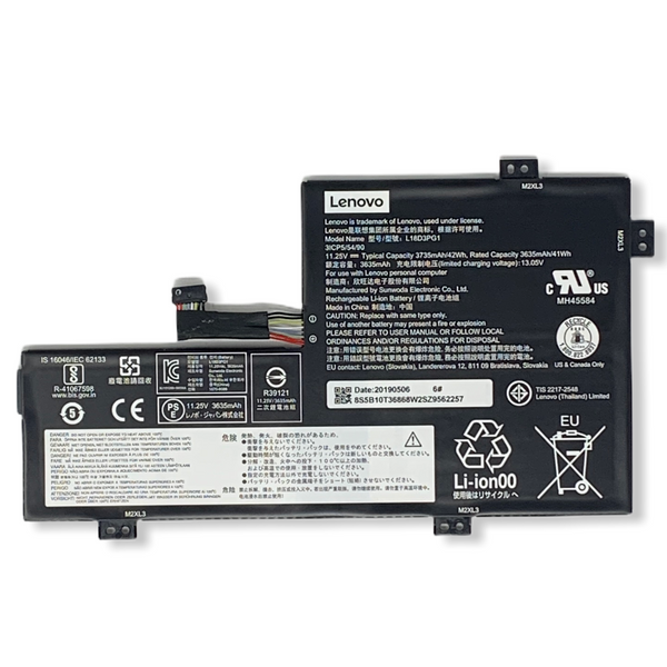 5B10T36868 Lenovo Chromebook 100e 2nd Gen Battery