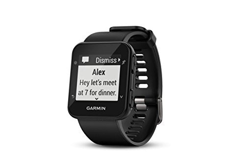 Garmin Forerunner 35; Easy-to-Use GPS Running Watch, Black - wiihuu