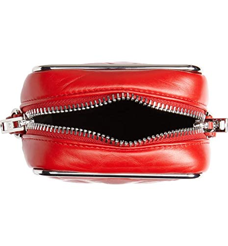 Alexander Wang Halo Quilted Leather Crossbody Bag (Red) - wiihuu