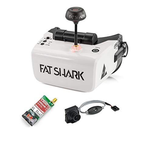Fat Shark Scout FPV Goggles RTF Combo (with 600TVL Camera and ImmersionRC 600mW VTX) - wiihuu