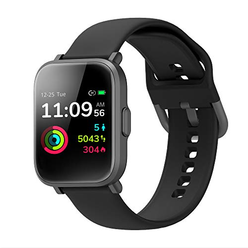 Smart Watch Fitness Tracker Blood Oxygen Detection SpO2 5ATM Waterproof Health Sleep&Swim Tracking PPG Heart Rate Monitor Multiple Sports Modes Long Lasting Ultra Thin - wiihuu