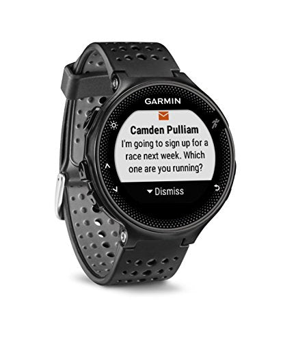 Garmin Forerunner 235, GPS Running Watch, Black/Gray - wiihuu