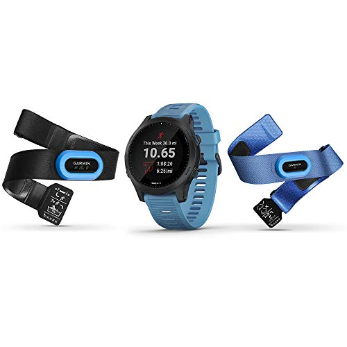 Garmin Forerunner 945 Bundle, Premium GPS Running/Triathlon Smartwatch with Music, Blue - wiihuu