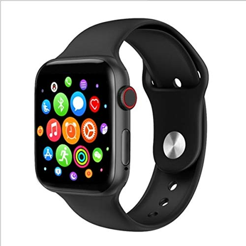 Smart Watch Plus 500, Fitness Activity Tracker, Heart Rate, Sleep Monitor, Calorie Counter, Pedometer for Android / iPhone. (Replaceable Apple Original Strap) (Black) - wiihuu