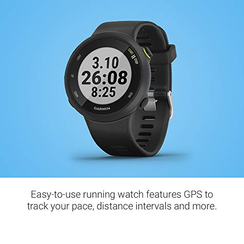 Garmin Forerunner 45S, 39mm Easy-to-use GPS Running Watch with Coach Free Training Plan Support, Black - wiihuu