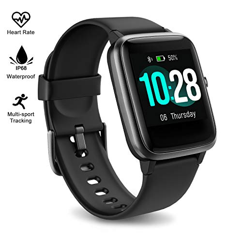 Fitpolo Fitness Tracker Watch with Heart Rate and Sleep Monitor - Activity Tracker Waterproof Smart Wristband Watch, Step Calorie Counter, Pedometer Android iOS Compatible for Women Men Kids - wiihuu