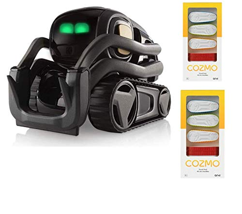 Anki Vector Robot, A Home Robot Who Hangs Out & Helps Out, with Amazon Alexa Built-in with Bonus Treads (Vector+4 Treads) - wiihuu