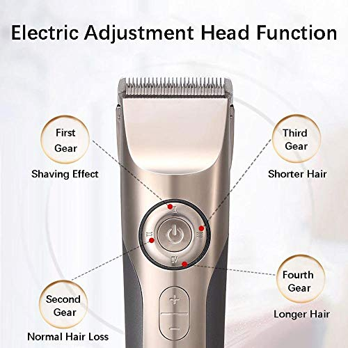 ZHLZH Hair Trimmer/Haircut Kit, 3-25mm Cutting Professional Electric Hair Clipper for Barber LCD Display Rechargeable Hair Trimmers Cutting Machine - wiihuu