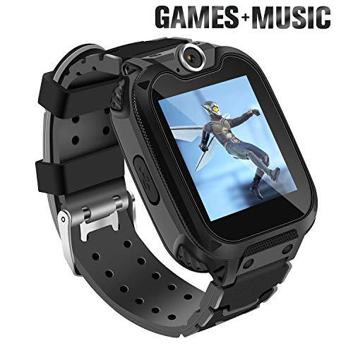 Ralehong Smart Watch for Kids with 7 Puzzle Games Music Camera Two-Way Call SOS for 3-14 Years Girls Boys,1.54-inch Color Large Touch Screen for Children Birthday Christmas New Year Gift - wiihuu