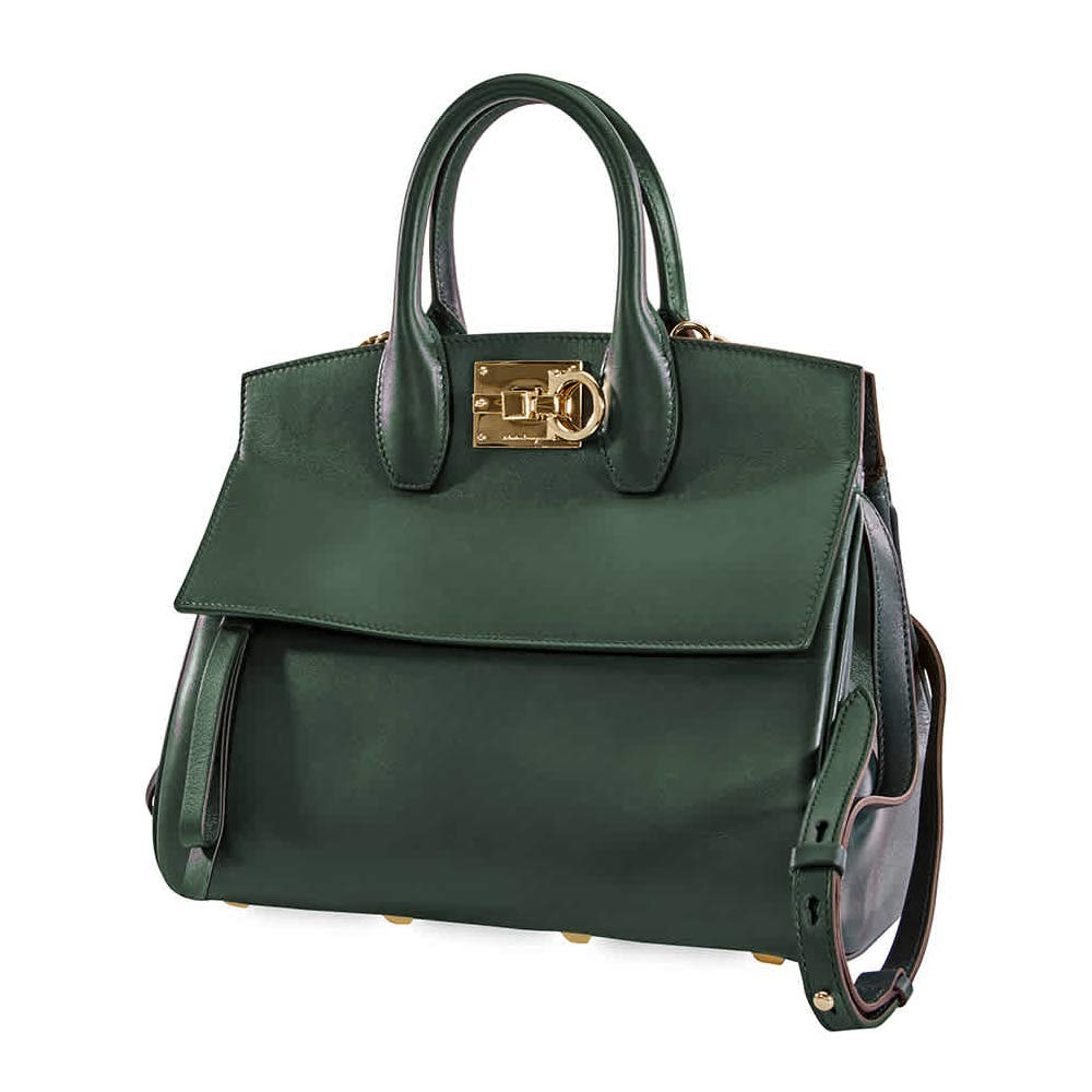 Ferragamo The Studio green bag 21H159 718603 - wiihuu