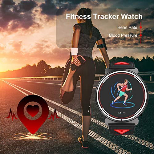 Smart Watch for Android iOS Phones 2019 Version, TZAMCW Fitness Tracker Watch Activity with Heart Rate Monitor Sleep Tracker, Activity Smartwatch Compatible with iPhone Samsung for Men Women Kids Gift - wiihuu