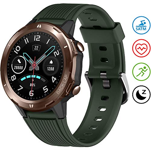 UMIDIGI Smart Watch Fitness Tracker Uwatch GT, Smart Watch for Android Phones, Activity Tracker Smartwatch for Men with Sleep Monitor All-Day Heart Rate 5ATM Waterproof - wiihuu