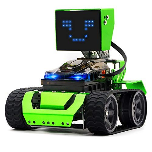 Robobloq STEM Robot Kit - DIY 6 in 1 Advanced Mechanical Building Block with Remote Control for Kids, Educational Toy with 174 Pieces for Programming and Learning How to Code (Green) - wiihuu