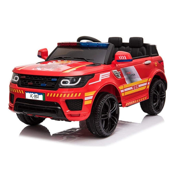 MUzoo Baby Double Door Double Drive Toy car can sit Electric car Battery car can take Battery car Police Gift Children can sit Children Electric Police car Large Remote Control car Remote Control car - wiihuu