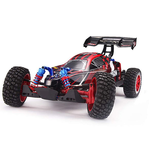 LSQR Charging Remote Controlled Racing Car, 1/8 2.4g Electric 70KM/H High-Speed Car Four-Wheel Drive Off-Road ATV Brushless Version Racing Desert Off-Road Vehicle - wiihuu