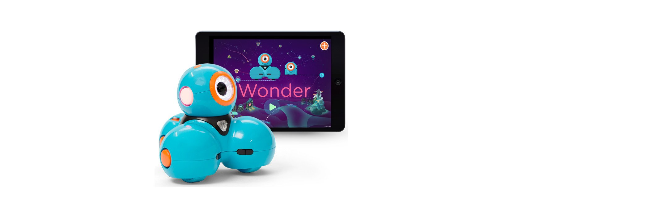Wonder Workshop Dash - Coding Robot for Kids 6+ - Voice Activated - Navigates Objects - 5 Free Programming STEM Apps - Creating Confident Digital Citizens - wiihuu