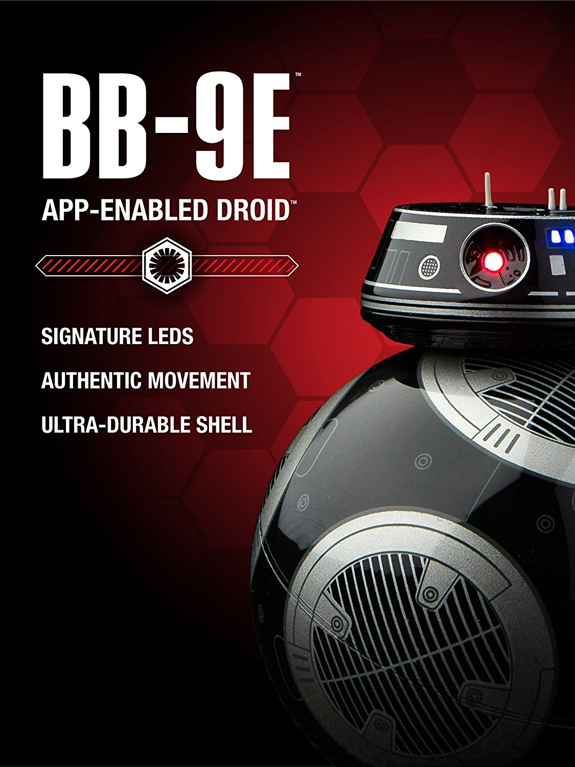 Sp hero BB-9E App-Enabled Droid with Trainer - wiihuu