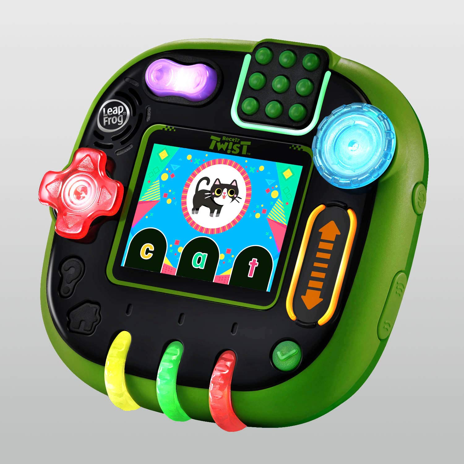 LeapFrog RockIt Twist Handheld Learning Game System, Green - wiihuu