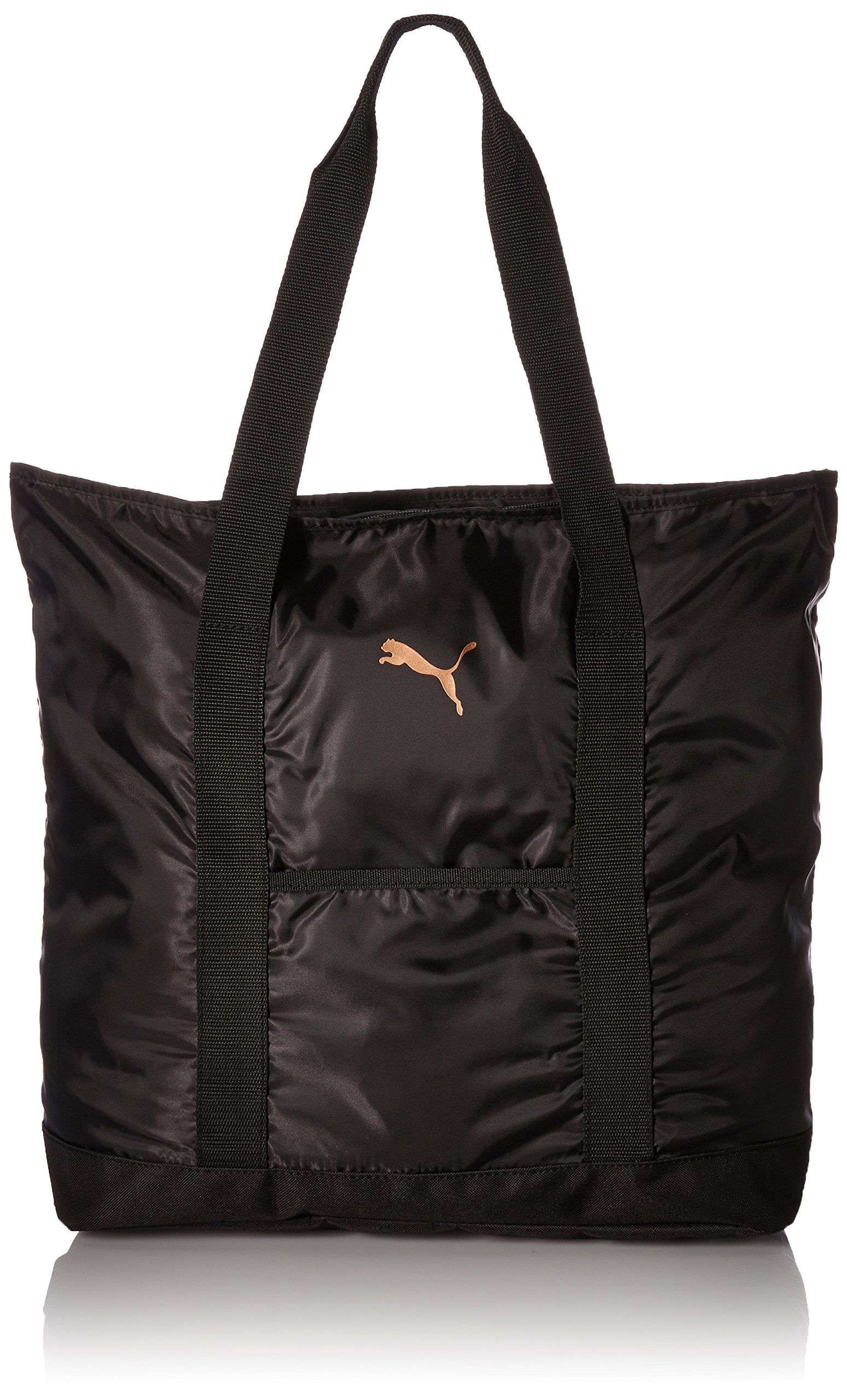 PUMA Women's Evercat Cambridge Tote, black/gold, OS - wiihuu