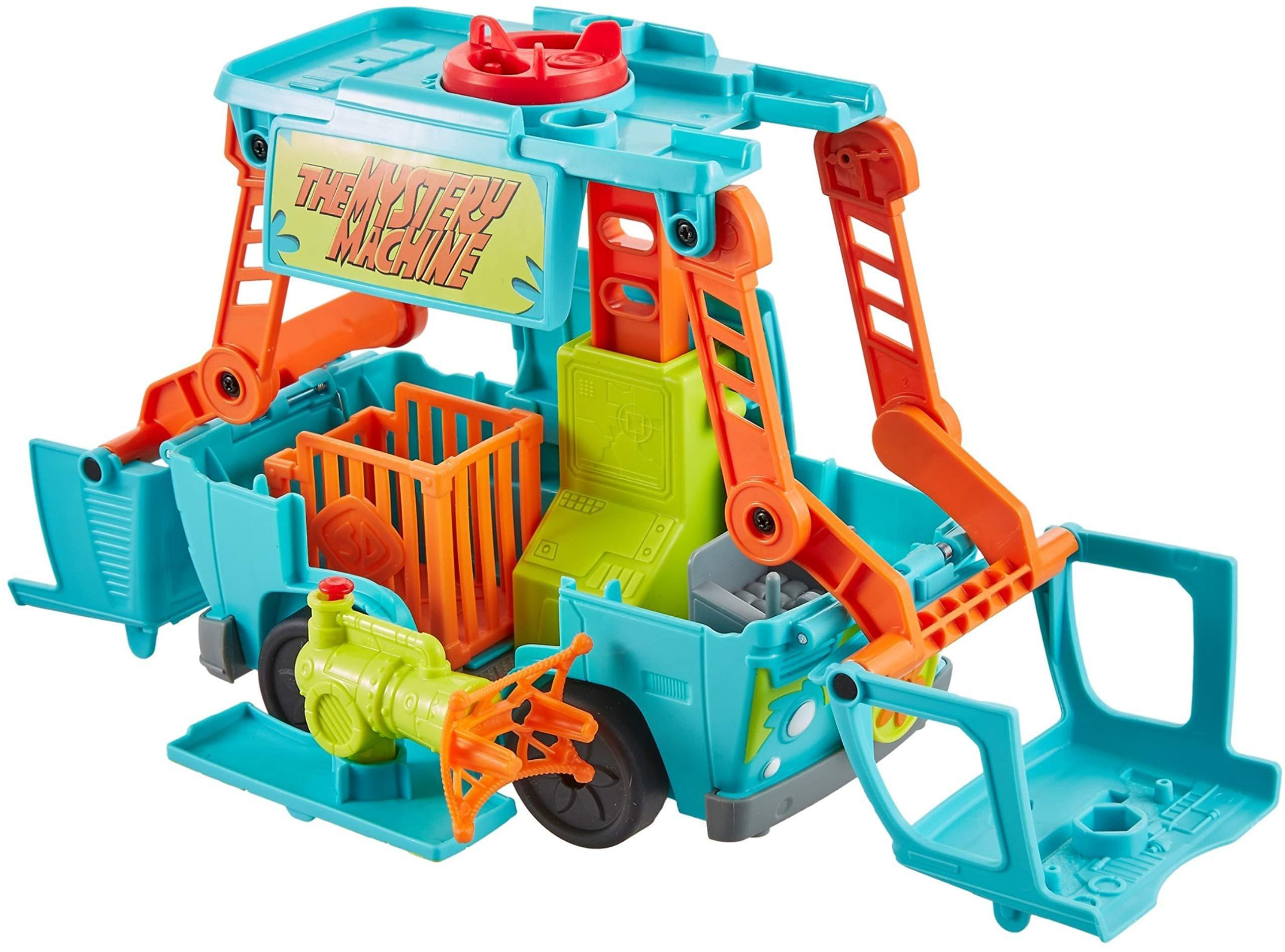 Fisher-Price Imaginext Scooby-Doo Transforming Mystery Machine - wiihuu