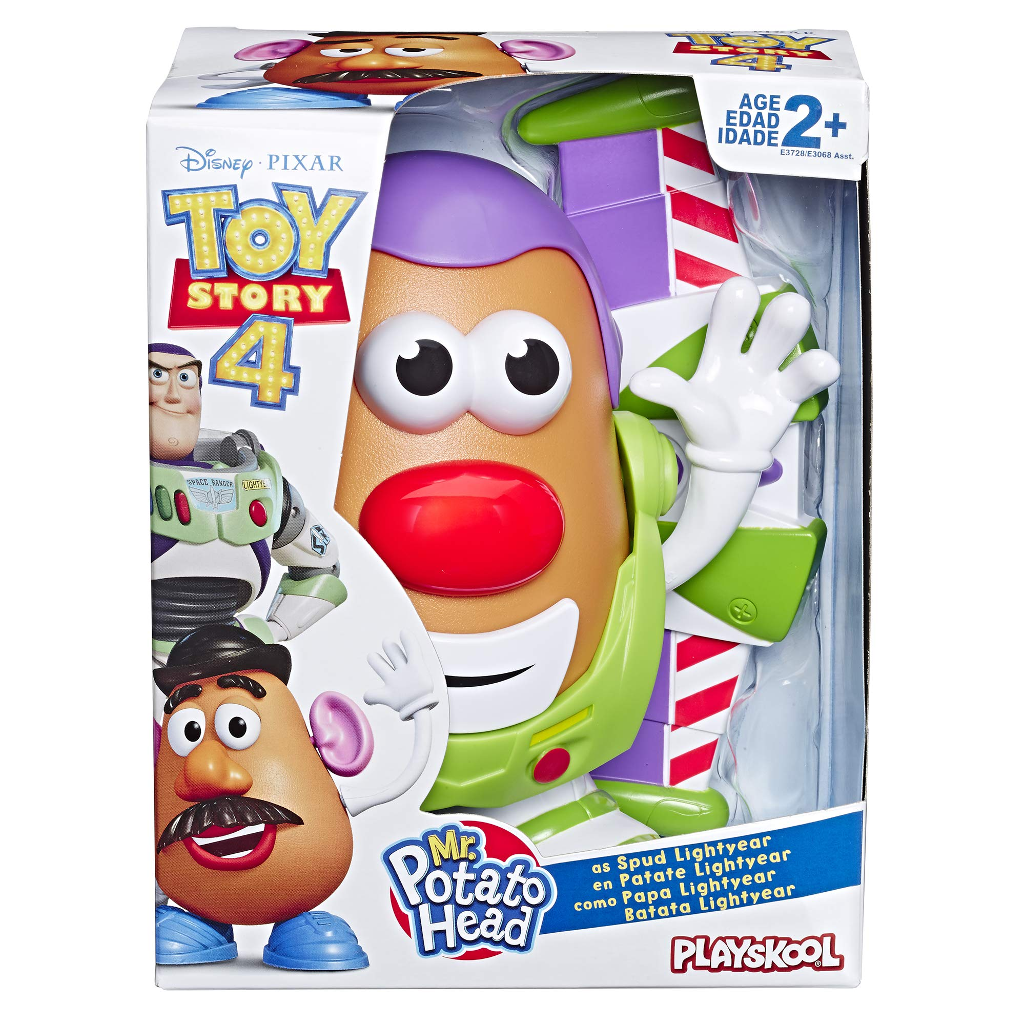 Mr Potato Head Disney/Pixar Toy Story 4 Spud Lightyear Figure Toy for Kids Ages 2 & Up - wiihuu