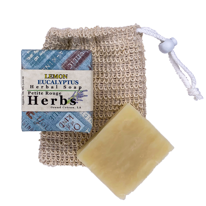 Lemon Eucalyptus Herbal Soap