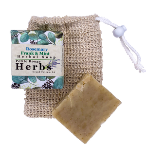 Rosemary Frank & Mint Herbal Soap