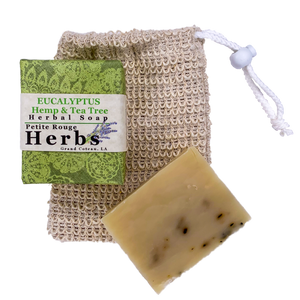 Eucalyptus Hemp & Tea Tree Herbal Soap