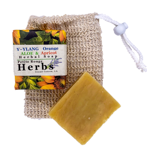 Y~YLANG Orange Aloe & Apricot Herbal Soap