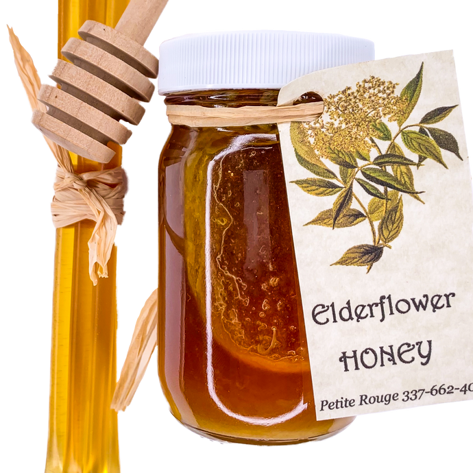 Elderflower Honey