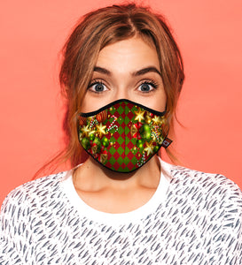 "CHRISTMAS CHECK<br><FONT SIZE=""3"">FITTED MASK</FONT>"