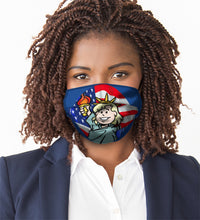 "Load image into Gallery viewer, USA LIBERTY<br><FONT SIZE=""3"">FLAT MASK</FONT>"