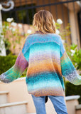 Variegated Oversized Sweater