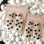 Handmade Clay: Opaque Spotted Drops