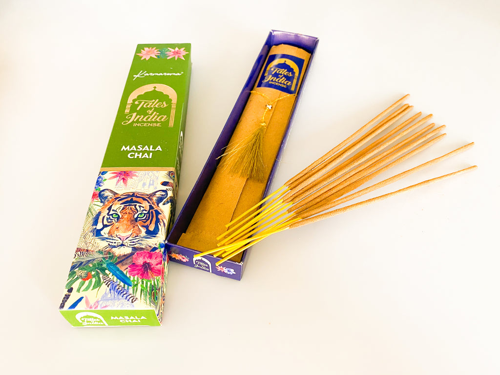 Chai incense sticks