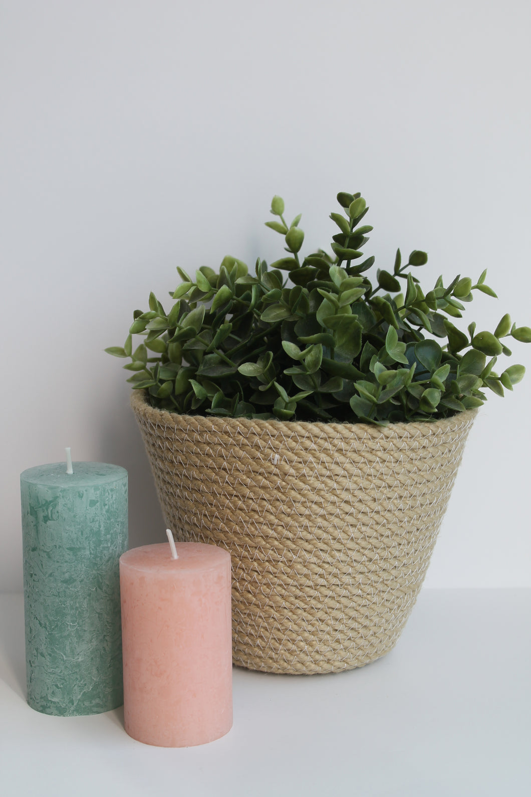 White Sandstone Plant Pot