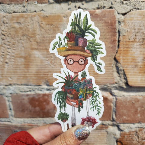 Plant King Sticker