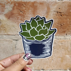 Succulent Sticker
