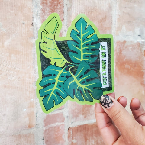 PAPOI Monstera Sticker