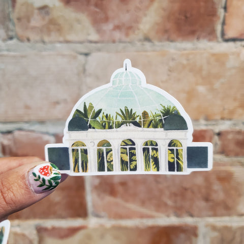 Botanical Garden Sticker