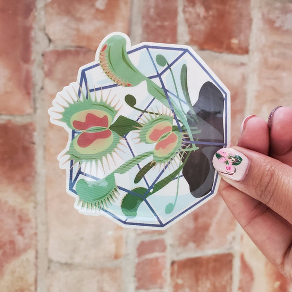 Venus Flytrap Sticker