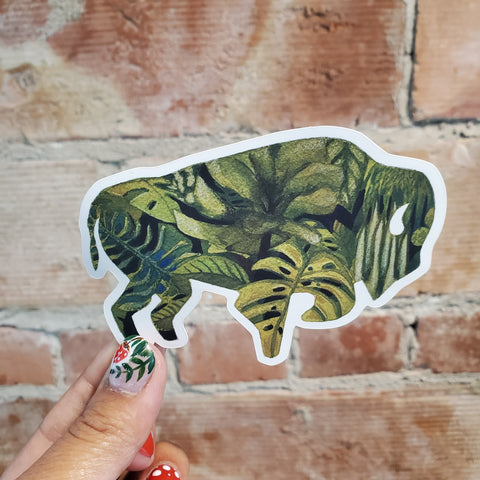 Buffalo Plant Sticker