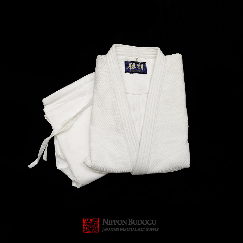 Shori Bleached Double Weave Aikido/Judo Uniform