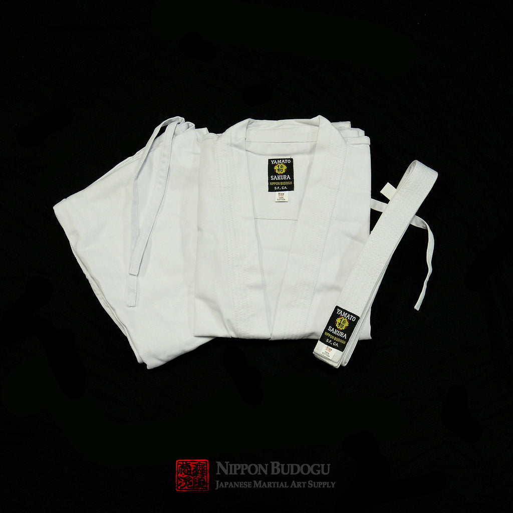 Yamato Sakura Medium Weight Karate Uniform