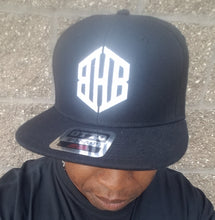 Load image into Gallery viewer, Brain Hole Bandits BHB Ball Cap BLK