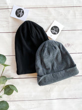 Load image into Gallery viewer, The Brexton Slouchy Gray Beanie