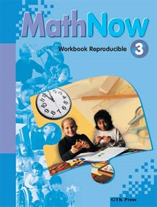 Math Now Grade 3 Work Book Reproducible
