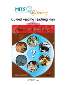 Where Do They Sleep? - teaching plan