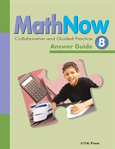 Math Now Grade 8 CGP Answer Guide