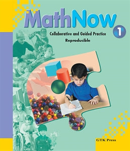 Math Now Grade 1 Collaborative and Guided Practice Reproducible